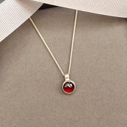 Handcrafted Garnet Pendant