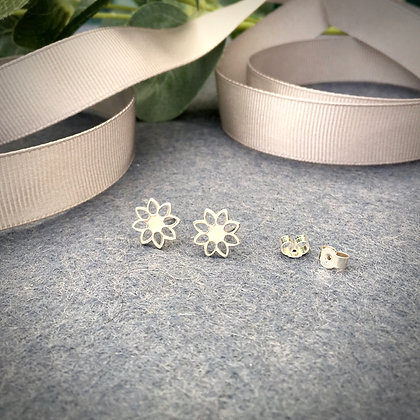 Sterling Silver 'Daisy' Studs