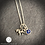 Thumbnail: Sterling Unicorn & Birthstone Necklace