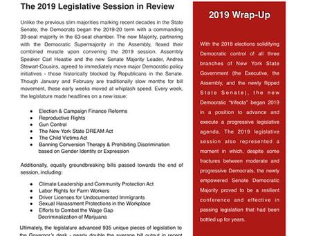 2020 Preview via 2019 Wrap-Up