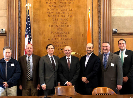 Ochacher Leads Electrical Contractor Delegation to Lobby on County Airport