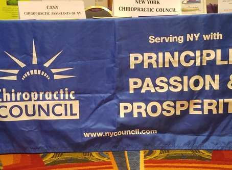 Perry Ochacher Addresses New York Chiropractic Council's 29th Annual Convention in Tarrytown