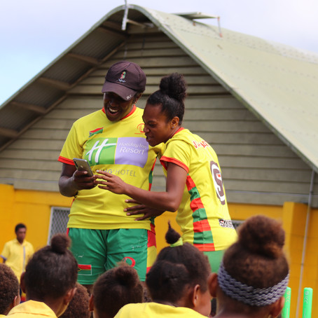 Cyber Violence Addressed through Cricket in Partnership with Vanuatu Police Force.