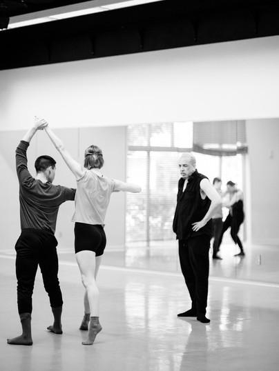 Scene Unseen (rehearsal shoot)