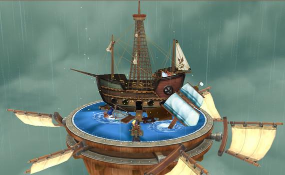 海賊船ハウス外観