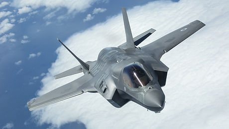 BAE F35 takes to the skies