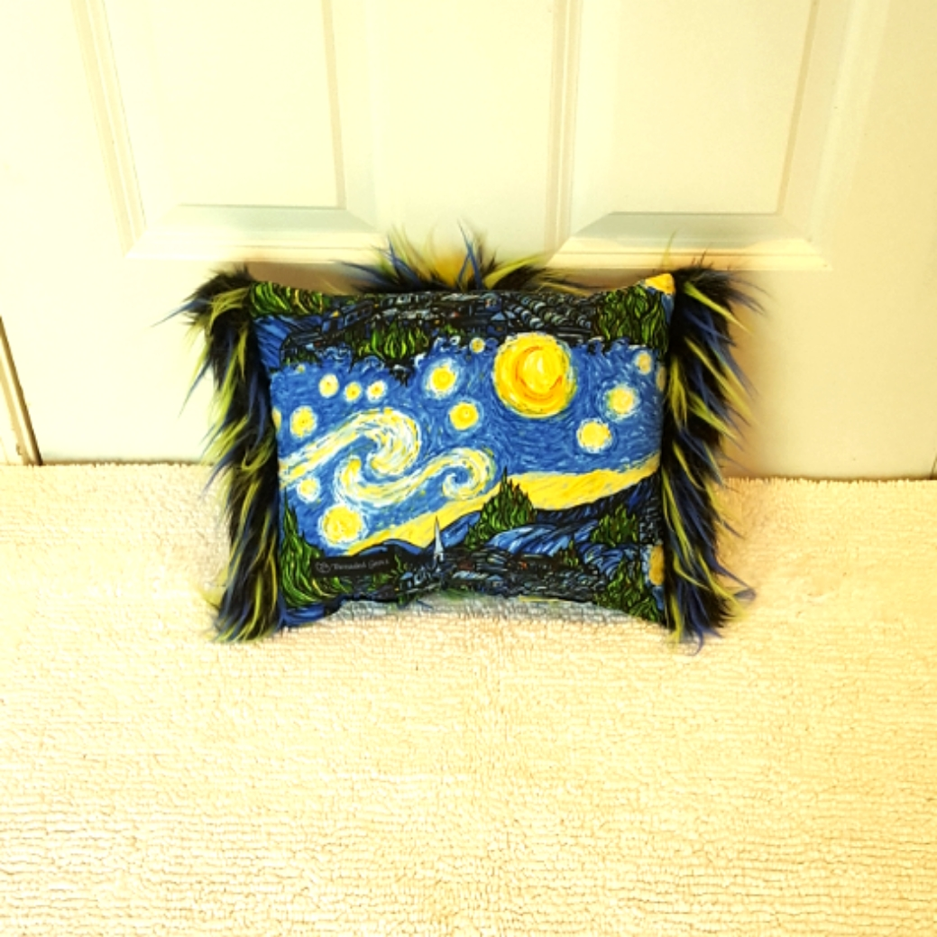 Mini Muffy Starry Night back