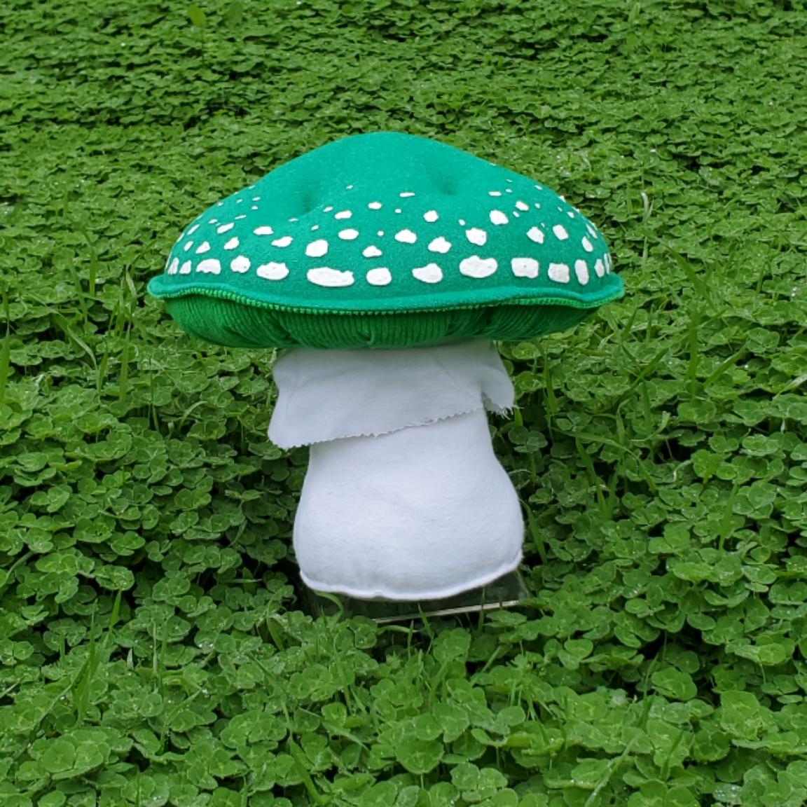 Cloverfield mushroom green amanita