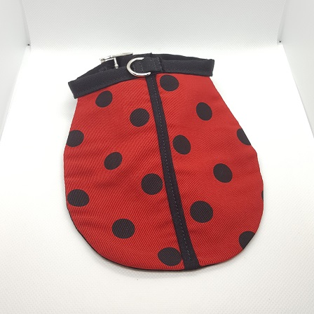 Dog Collar ladybug