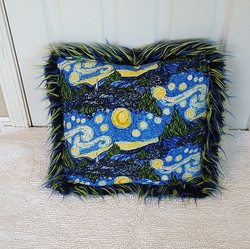Muffy Pillow van gogh gback