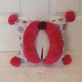 peekaboo pink mini Muffy vagina pillow 1