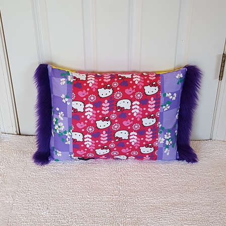 Pocket Pillow hello kitty gback
