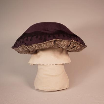 Purple ink mushroom