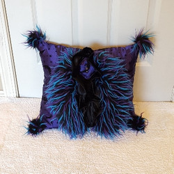 Witchy purple  Muffy vagina pillow 1