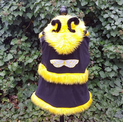 Bee hooded vest 2
