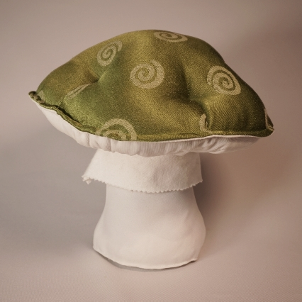 Green spiral mushroom 1