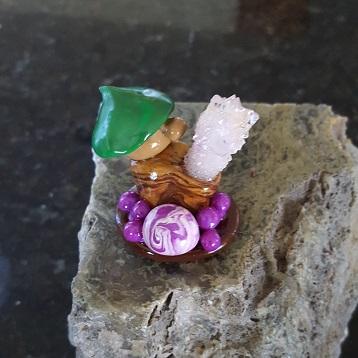 Amethyst gnome