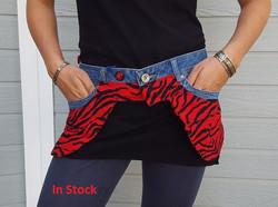Red Tiger Stripe Utility Belt