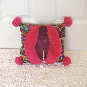 pink butterflies mini Muffy vagina pillo