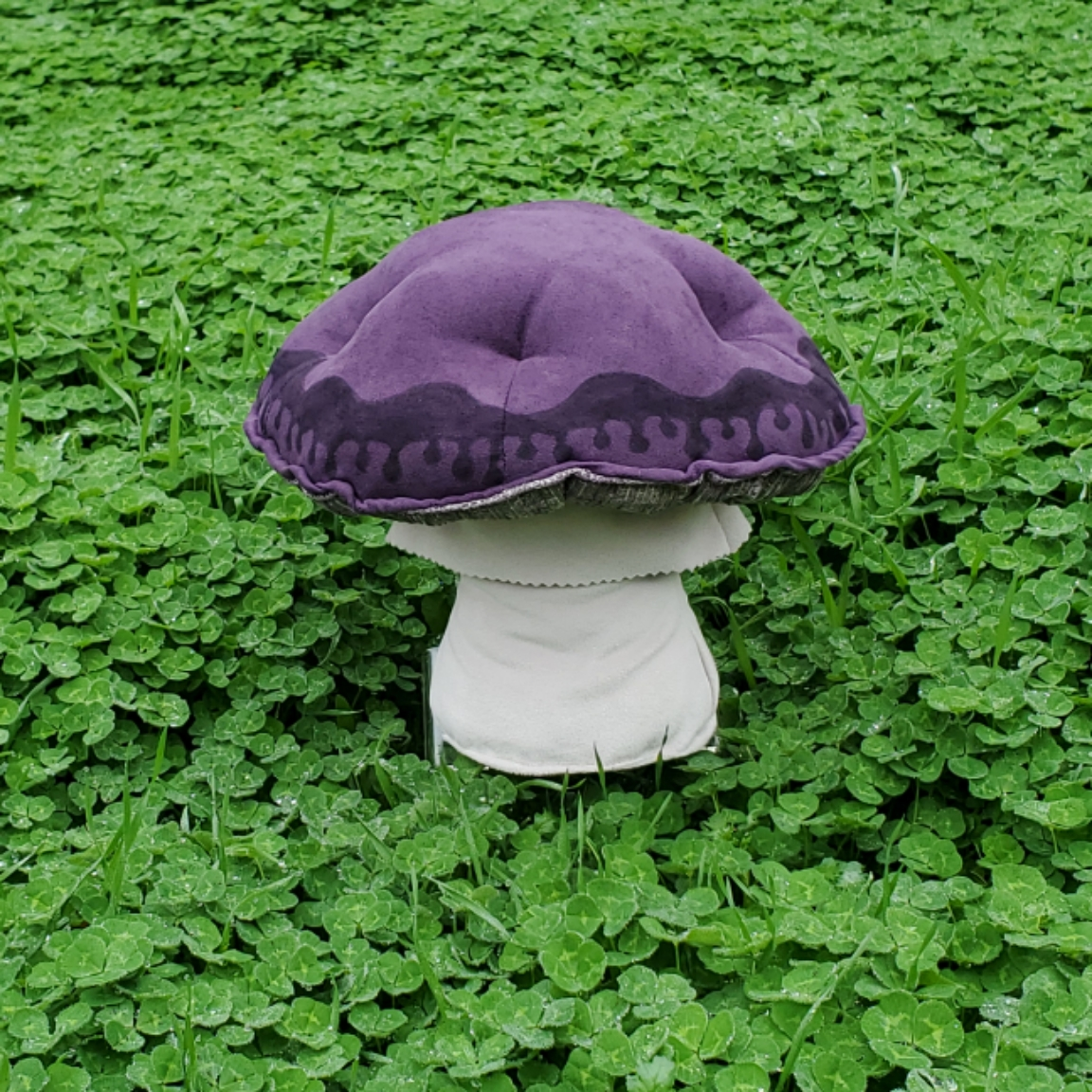 Cloverfield mushroom purple ink drop
