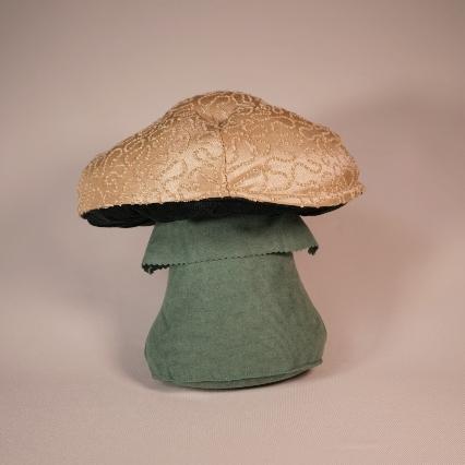 Squiggly tan mushroom 1