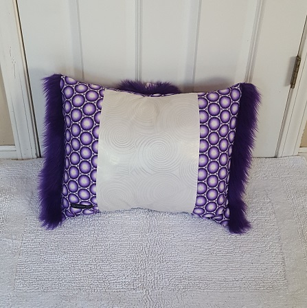 Muffy Pillow purple gack