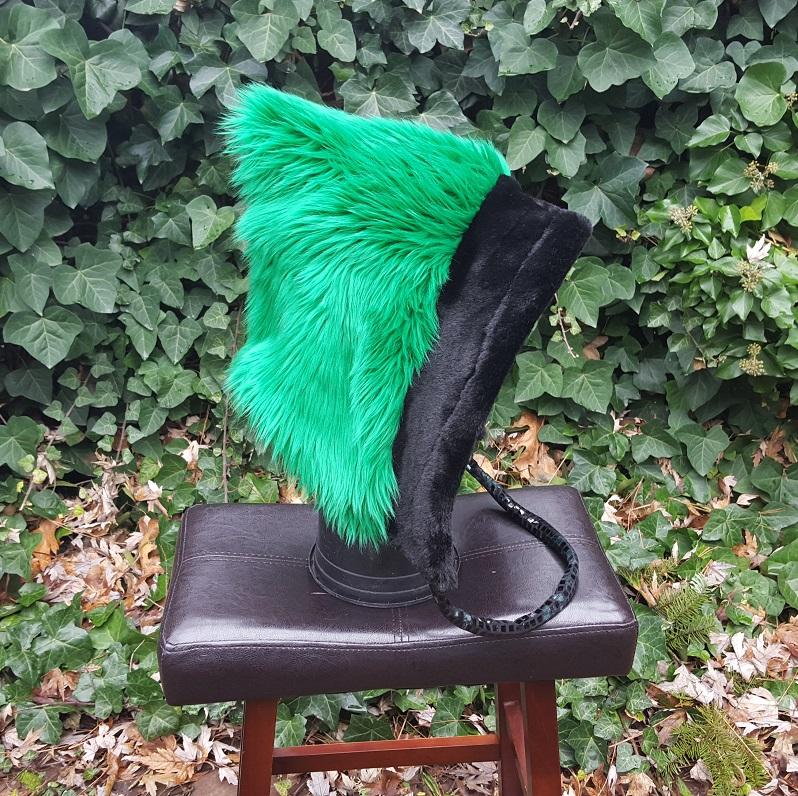 Green Short hood 2