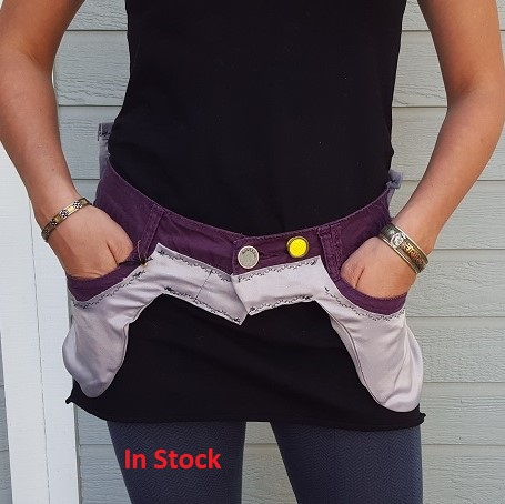 Purple Silver Utility Belt