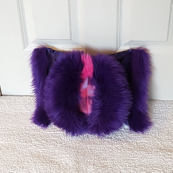 purple moons mini Muffy vagina pillow 1.