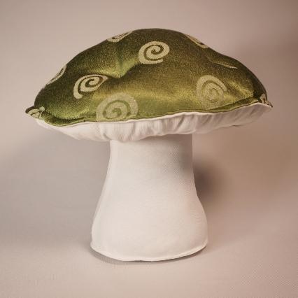 Green spiral mushroom 2