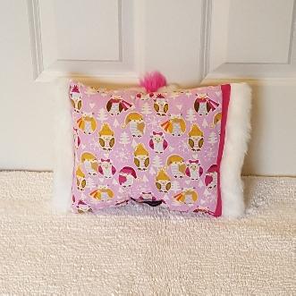 snowy owls mini Muffy vagina pillow 2