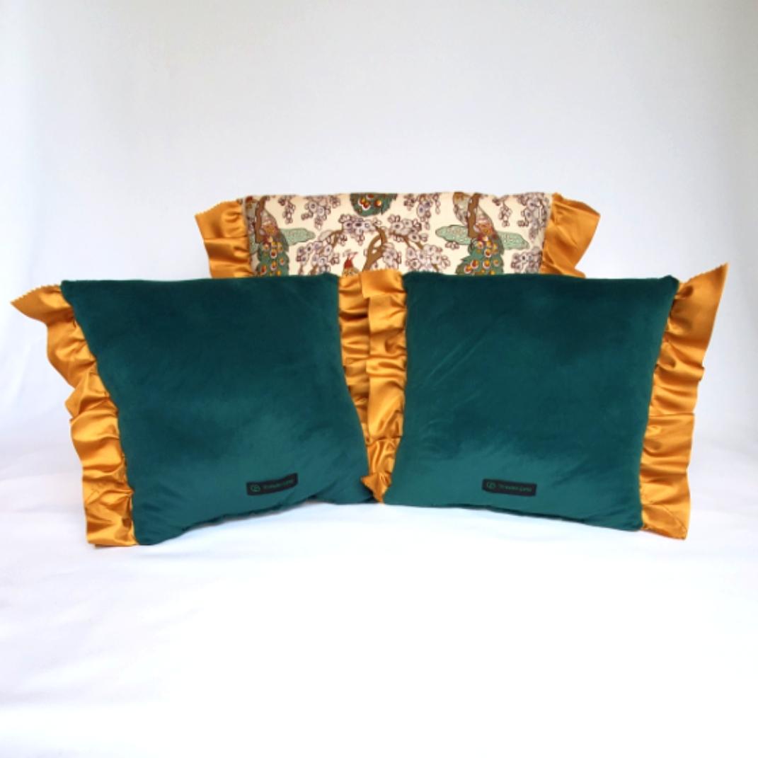Throw Pillows peacocks