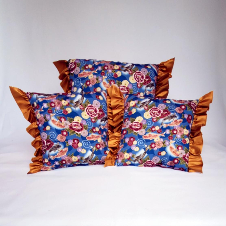 Throw Pillows koi fish