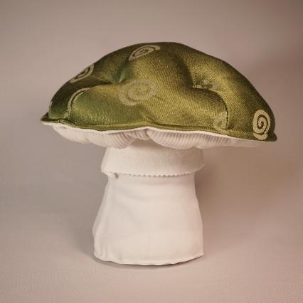 Green spiral mushroom 3