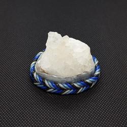 quartz blue silver