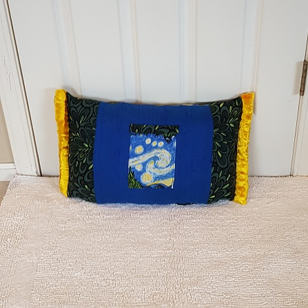 Pocket Pillow van gogh front