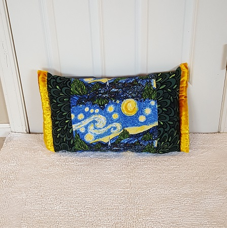 Pocket Pillow van gogh gback