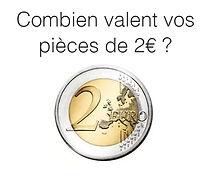 valeur pièce 2€