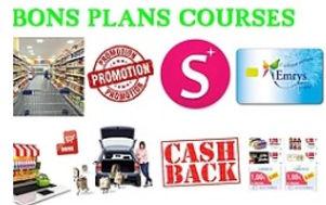bons plans courses