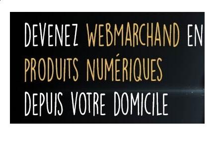 Devenez Webmarchand