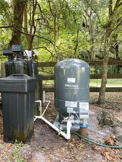 pump service call - new pump, drop pipe,