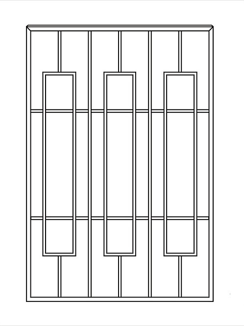 Сварная решетка арт 014.