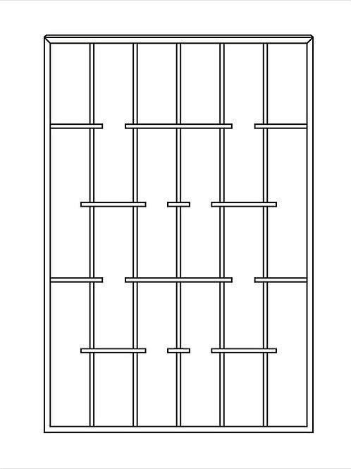 Сварная решетка арт 016.