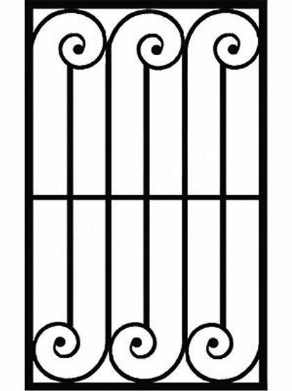 Кованая решетка арт 001.