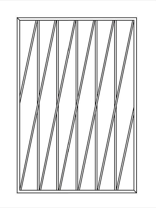 Сварная решетка арт 013.