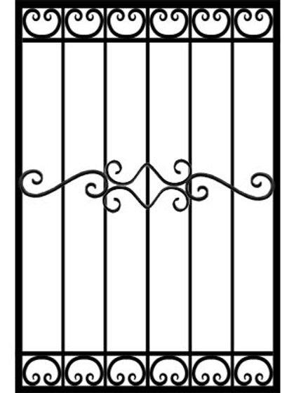 Кованая решетка арт 003.