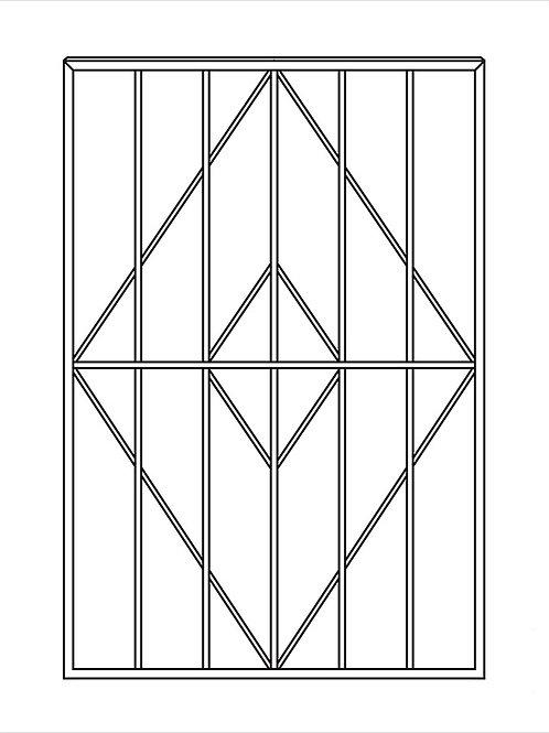 Сварная решетка арт 003.