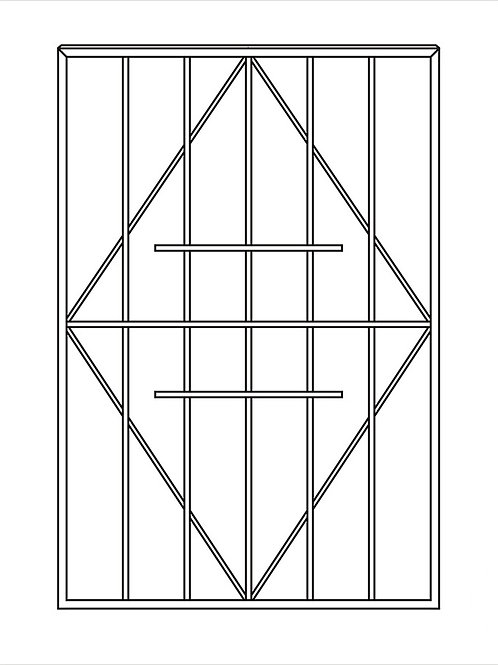 Сварная решетка арт 018.