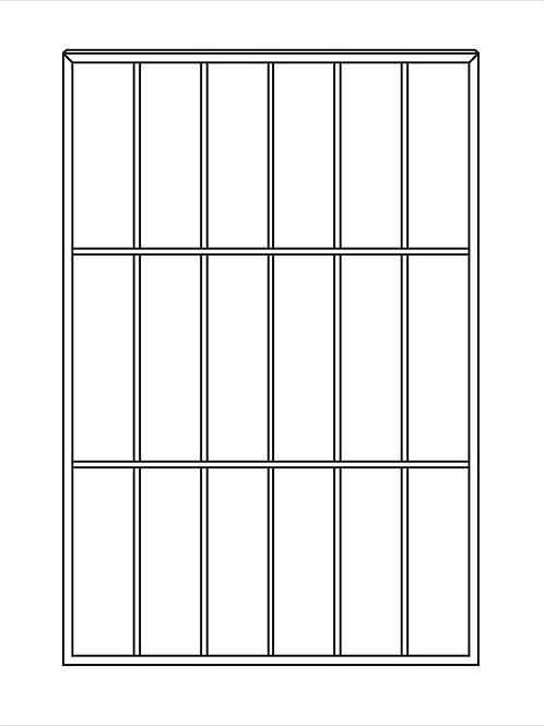 Сварная решетка арт 001.