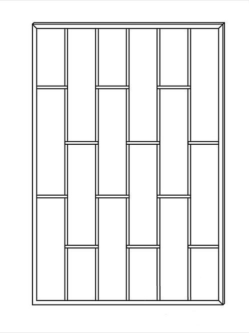 Сварная решетка арт 006.